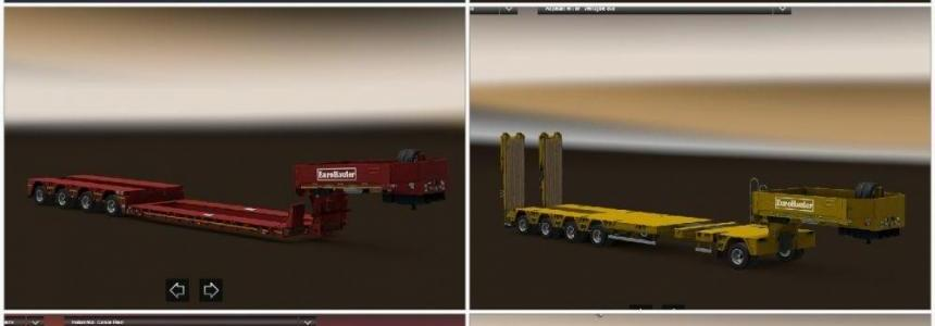 Empty Heavy Cargo Trailer For Multiplayer