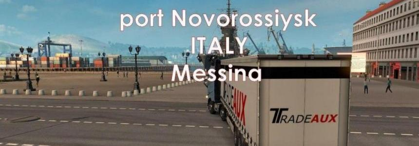 Ferry Connection Novorossiysk Canakkale Messina [1.27.x]