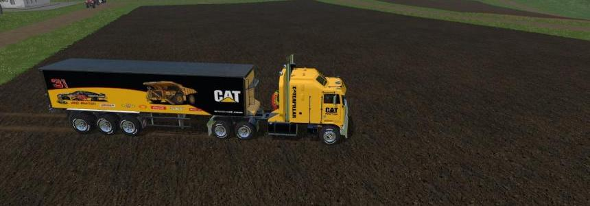 FS17 CatKenworth K100 and Trailer v1.1