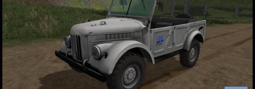 GAZ 69 Farming simulator 17 v3.0