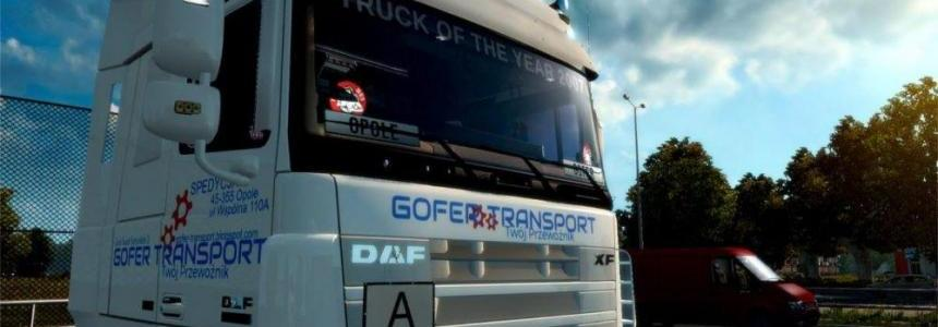GOFER TRANSPORT PL SKIN for DAF XF 105