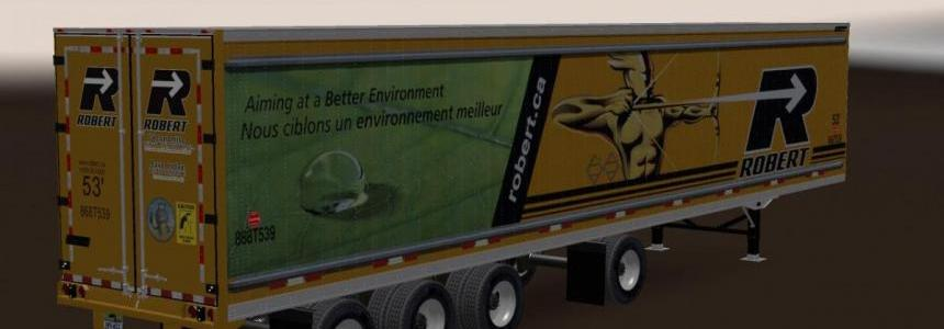 Great Dane 48 Double Trailer ATS New Skin v1.1