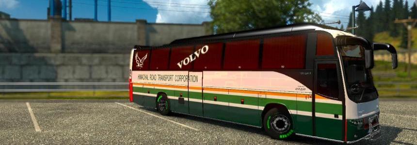 Indian (HRTC) skin for volvo b12b tx v1.1