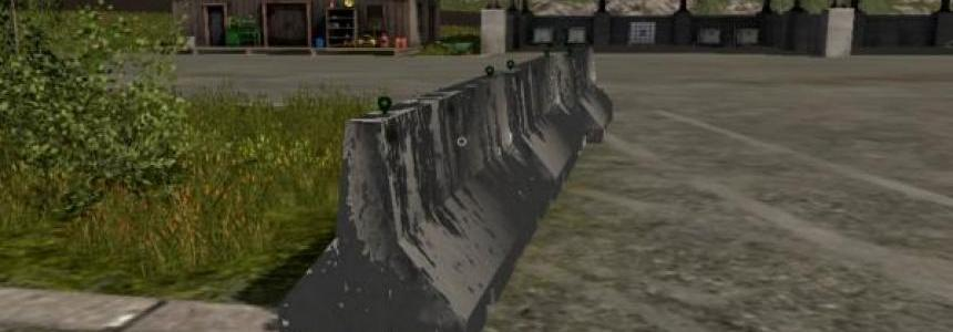Jersey Barrier Placeable v1.0