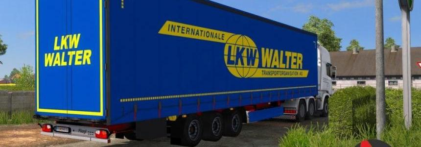LKW Walter Skin for Fliegl SDS350 Mega Trailer