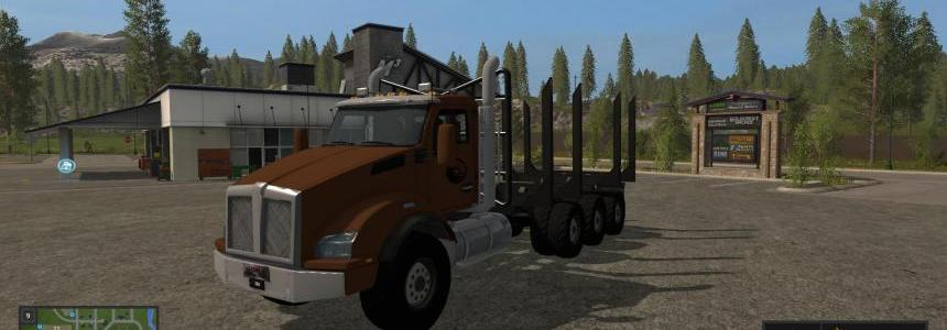 Logging Truck Fixed Bunk v1.0