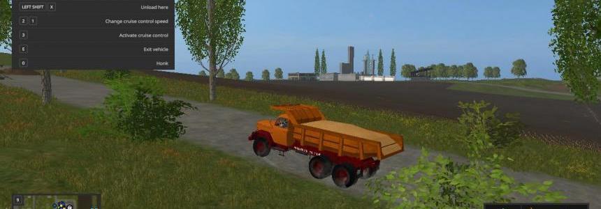 Magirus 200D 26AK 6x6 dump truck v1.0