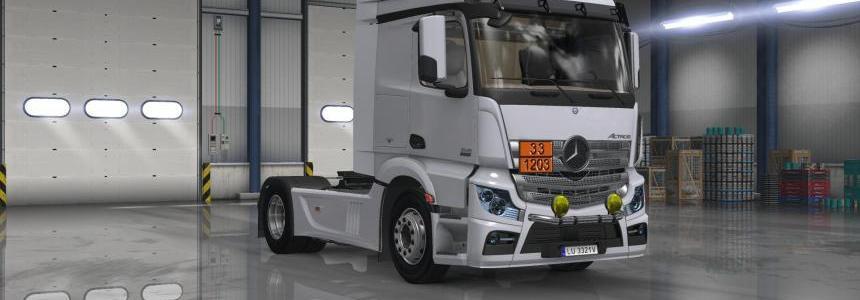 Mercedes Actros MP4 1845 v2.0 [1.27] FIX + UPD