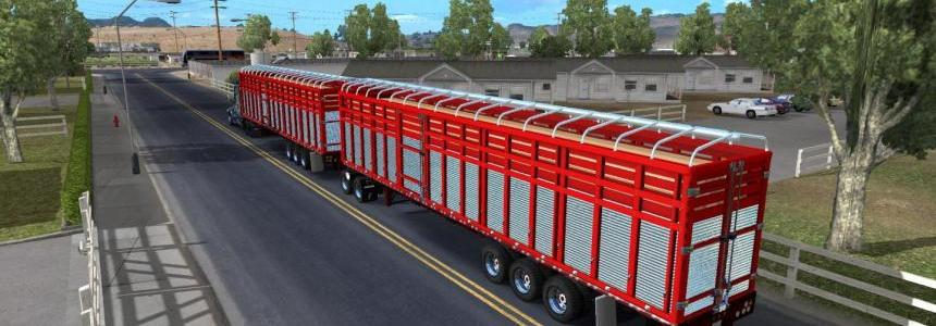 Pack double trailers for ATS