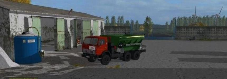 Pack Kamaz 54101 + Sprayer R4045 + Fertilizer Distributor v1.0