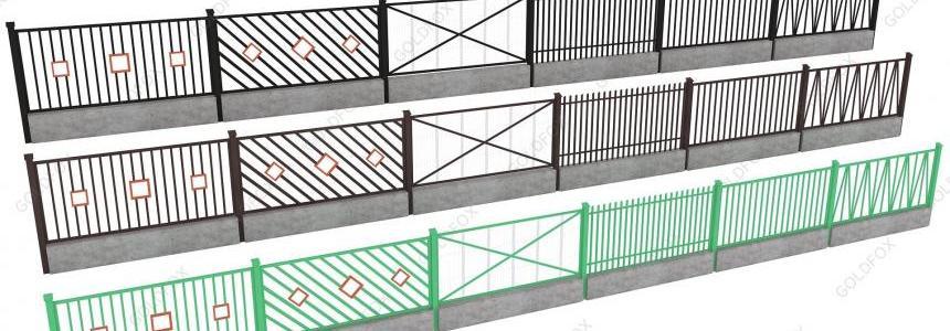 Pack of Fences 4 v1.0