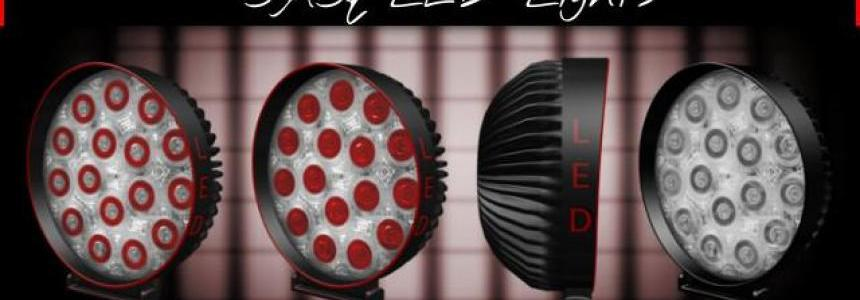 Paсk lights, headlights, fog lights, small lights