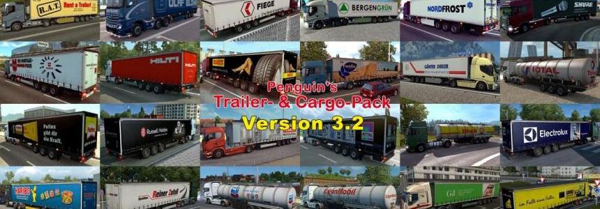 Penguins Trailer and CargoPack v3.2