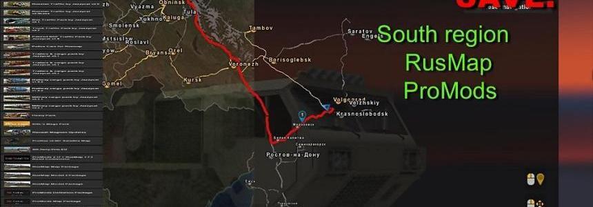 Save: South Region + RusMap + ProMods