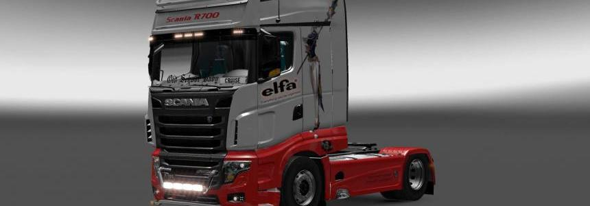 Scania R700 Elfa skin 1.27