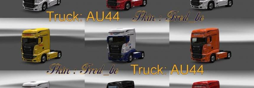 Scania R700 Skin Pack (15 skins) 1.28.Xs