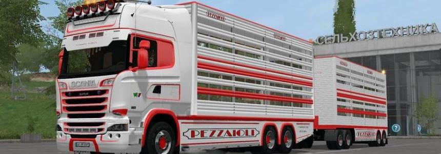 Scania R730 animal transports v2.2