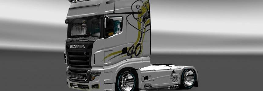 Skin DS v1 for Scania R 700 Longline