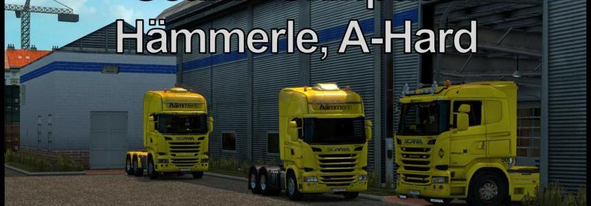 Skinpack Hammerle, A-Hard for Scania v1.0