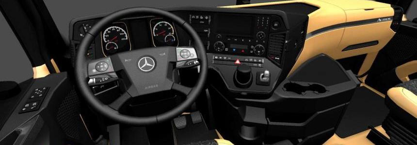 The luxury interior for Mercedes-Benz New Actros 1.27.x