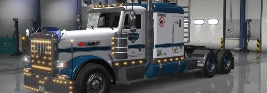 Updated UDL VTC Pete 389 Low Roof Sleeper Paint v1.02