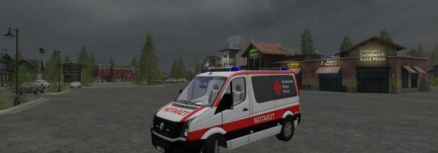 Volkswagen Crafter Emergency Doctor Skin v2.0
