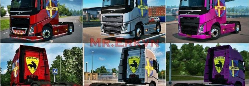 Volvo Fh Volvo Sweden Logo Skin