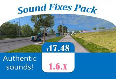 Sound Fixes Pack v17.48 - ATS