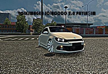 Volkswagen scirocco 2010 2.0 tsi