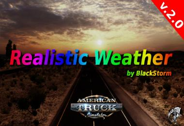 REALISTIC WEATHER BY BLACKSTORM V2.0 FOR ATS