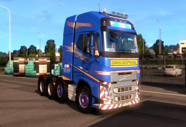 ADM Team Heavy Weight Volvo FH2012 Paintjob 1.27.x
