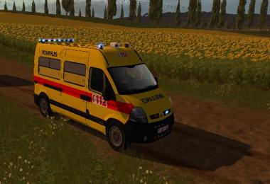 Ambulance renault master v1.0