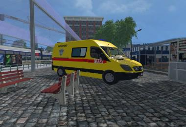 Ambulance sprinter belge v1.0