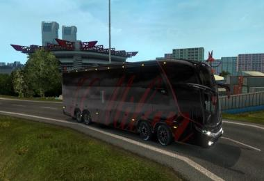 Bus Marcopolo G7 1600LD AC Milan Skin v1.18-1.27