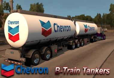 Chevron B-Train Tankers Skin
