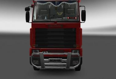 DLC Cabin for Scania 143m v1.0