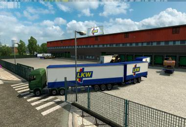 Double trailers in all companies across Europe