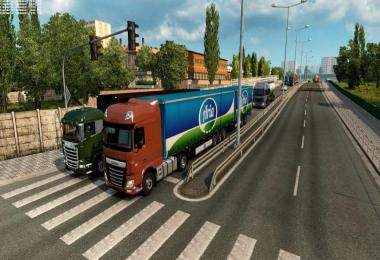 Double Trailers in Traffic [1.28.x]