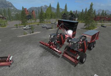 FS17 Krone BigX Cargo v2.0