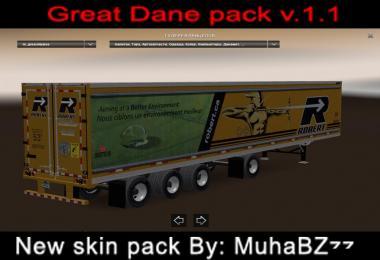 Great Dane 48 Double Trailer ATS New Skin v1.1