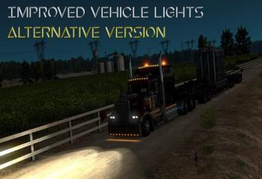 Improved Vehicle Lights: Alternative Version v1.1 - ATS