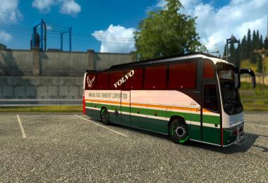 Indian (HRTC) skin for volvo b12b tx v1.1