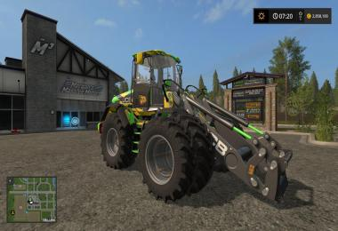 JCB 435S DIGITAL CAMO EDITION v1.2
