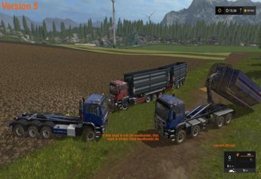 MAN TGS 6x6/8x8 with HVAC v6.0