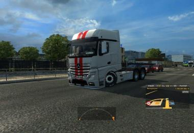 Mercedes Actros 2014 Low Chassis 1.27
