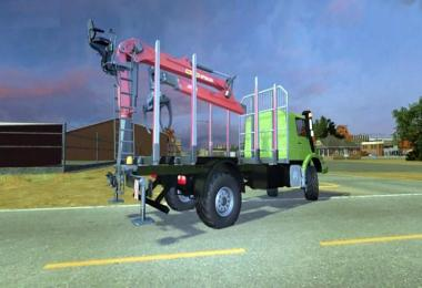 MERCEDES ZETROS TIMBER TRUCK v2.0