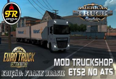 Mod Truck Shop ETS2 in ATS v1.0