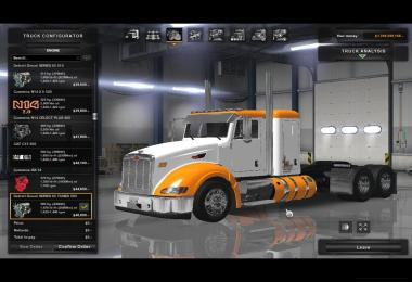 Peterbilt 386 with the new Kriechbaum Sounds