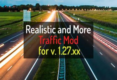 Realistic and more traffic mod 1.27.x