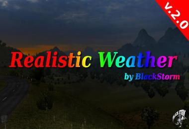 Realistic Weather by BlackStorm v2.0